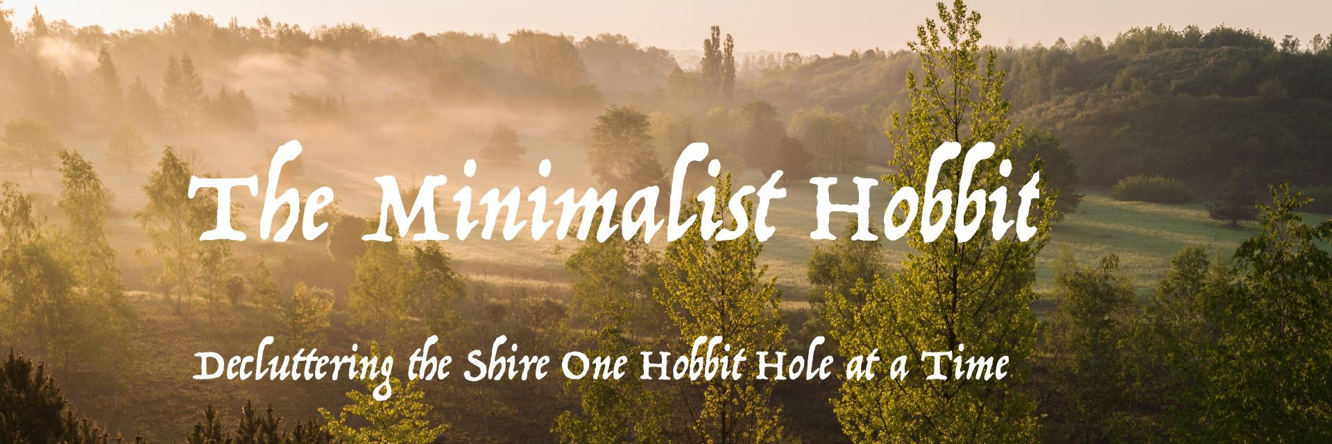 The Minimalist Hobbit